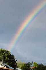 Canada Day Rainbow (~ Lauren ~) Tags: rainbow canada day canadian colours july 1 1st summer
