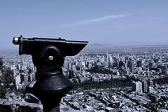 Mirador - Santiago de chile! (emilianomanuelgómezanife) Tags: horizonte chile santiago mirador antiguo cerro panorama city beautiful work workcity américa sudamérica viajar nikon nikonista 5300