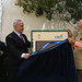 PM Netanyahu and PM Modi visit the Haifa cemetery