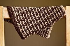 Clover Tweed Dishcloth