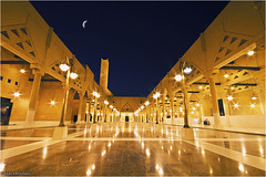 [EXPLORED] Mosque  (Faisal AlKhudairy \   ) Tags: moon canon landscape photography eos 50mm focus angle islam wide sigma wideangle mosque 7d land l usm 18 scape 1020 f28 f4 faisal 70200mm  masjed            1855m 70200m   400d             alkhudairy