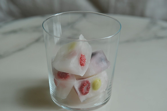 Lemonade Ice Cubes