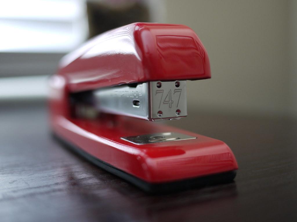 Image result for stapler on desk
