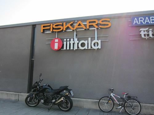 iittala and fiskars sign