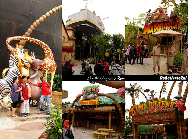 Universal Studios - Madagascar