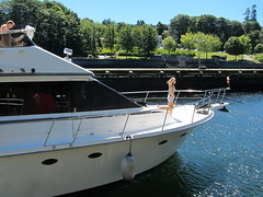Ballard Locks: boatin'