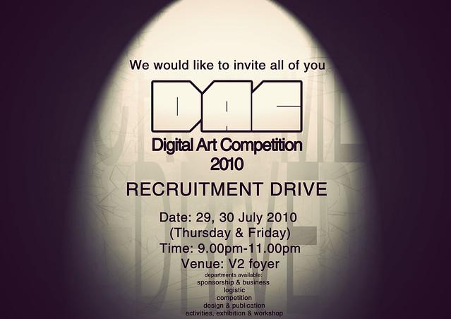 DAC2010 recruitment