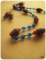 orange (mcf_dynamicamente ^_^) Tags: handmade creazioni feltro colori molise gioielli campobasso riccia orecchini mariacarmenfanelli