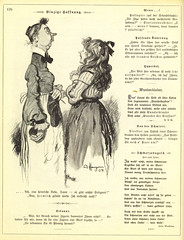 F.B. (pg 176), No 3063, page 8 (Digital Sextant) Tags: old blackandwhite bw white black art public girl painting hope sketch hands comic drawing snooty joy apron german bow clasp 1904 domain publicdomain governess