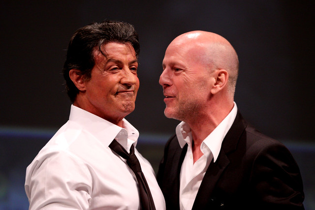 Thumb Sylvester Stallone tweets about Bruce Willis as the villain in EXPENDABLES II