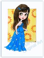 Blythe in Blue