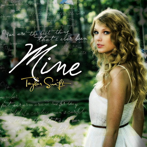 Taylor-Swift-Mine-Single-Cover