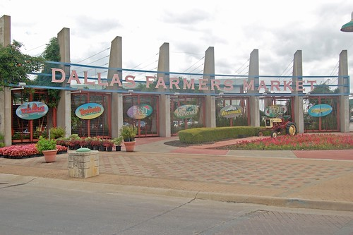 the Dallas Farmers Market