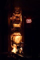 Light-up tiki at Hala Kahiki