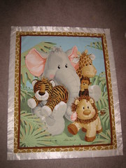 Jungle Babies Baby Blanket