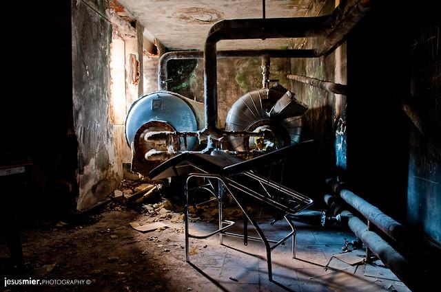 Abandoned Stretcher