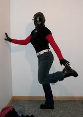 28 (Lara-Lee Lovedoll) Tags: leather female fetish tv doll mask boots bondage rubber crossdressing gloves heels latex corset gag layers tight bound nylon wetsuit catsuit pvc lovey enclosure feminization rubberdoll zentai breathplay
