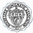 Rochester Numismatic Association logo