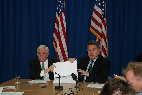 <b>Rep. Frank Wolf and Rep. Chris Smith in China</b>