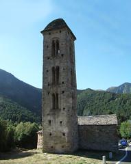 exterior Iglesia San Miguel Engolasters Andorra 09 (Rafael Gomez - http://micamara.es) Tags: torre campanario iglesia romànica san miguel engolasters romanesque church andorra viajes de sant miquel d'engolasters escaldasengordani romanica lombardo exterior
