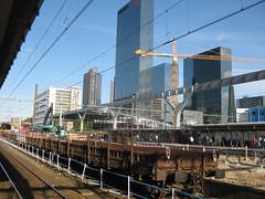 Verbouwing Rotterdam CS