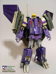 Blitzwing_23 (Wheel_Jack) Tags: tank jet transformers g1 mp custom masterpiece decepticon starscream kitbash wheeljack foxbat blitzwing wheeljacks70