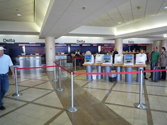 Delta SkyPriority Check-In LAX