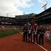 Marines at Fenway Park