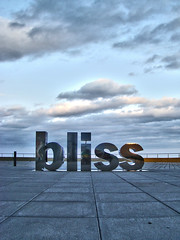 i.bliss (duboramic) Tags: sky art clouds corporate hotel arte pavement bcn barceloneta bliss vella