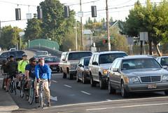 Bike traffic in The Vancouver Gap-13