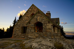 Mt Spokane (austinspace) Tags: park sunset house field rock washington spokane dusk granite ccc slate magichour mountspokane