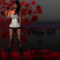 Nisey (Shay/ Shaterica Wulluf) Tags: life chris roses brown black dark sl second ebony breakup nisey hussle deuces nipsey