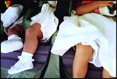 9/365 (Flower Girl Siesta) (rho_L) Tags: wedding stroller vince napping sanpedro flowergirls project365 arlynn