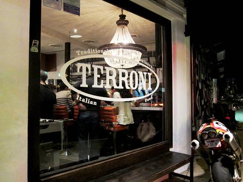 Dinner at Terroni