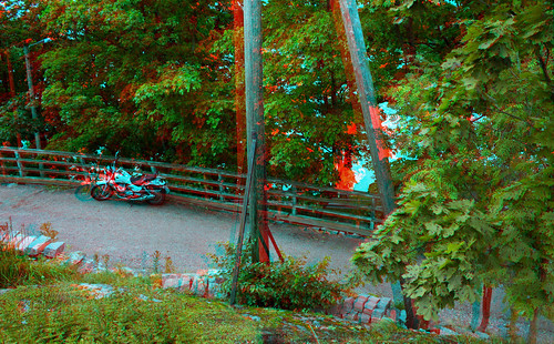 Stereo Helsinki in anaglyph