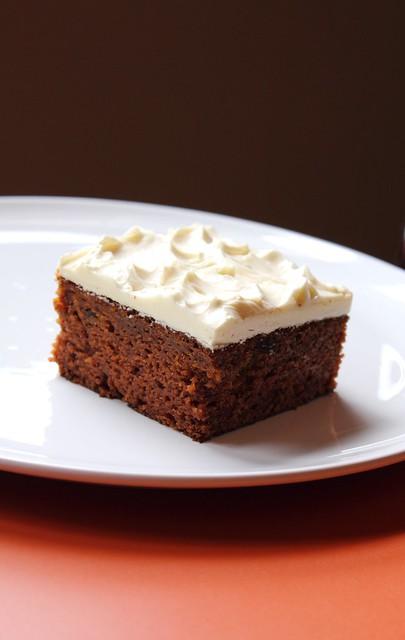 Maida Heatter Carrot Cake