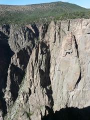 Chasm View (jb10okie) Tags: park travel summer vacation usa america colorado nps nationalparks canyons blackcanyonofthegunnison 2010 blackcanyon blackcanyonofthegunnisonnationalpark chasmview