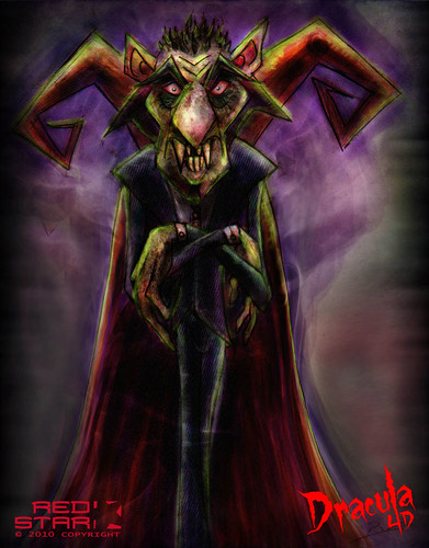 Dracula 4D - Artwork