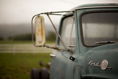 hardworkin' (jasfitz) Tags: california old ford field fog farmhouse truck vintage farm rusty roadtrip farmland 50mm14 bb fortuna northcoast heavymist 5dmarkii