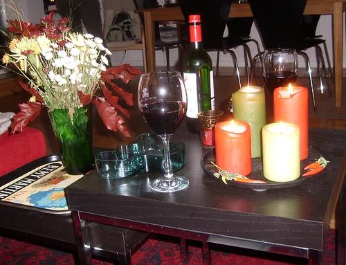 Äntligen ett glas vin
