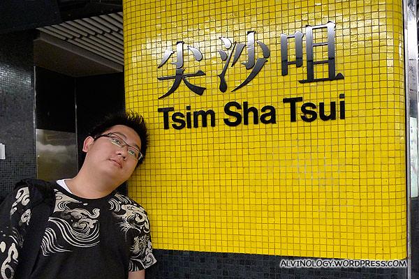 Back at Tsim Sha Tsui