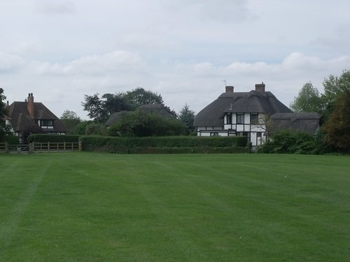 Cottages near the Recreation Field, Shottery (near Stratford-upon-Avon)