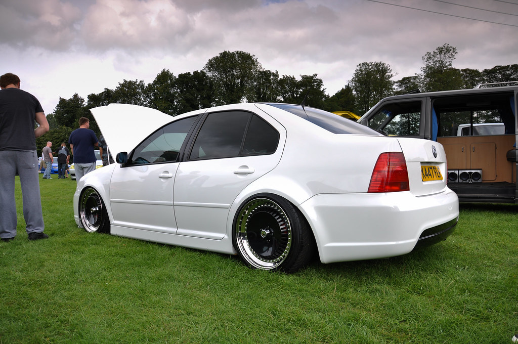 Bagged White Jetta | StanceNation™ // Form > Function