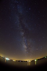 Milky Way Over Lake Bruin (frank3.0) Tags: longexposure stars nightshot astrophotography noiseninja highiso milkyway northlouisiana lakebruin zenitar16mmf28 canon5dmarkii tv2010