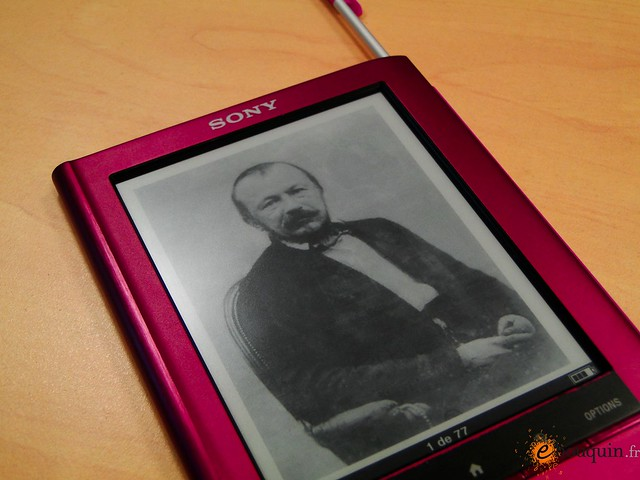 Kindle Vs Sony Reader: Sony Reader (with E Ink For Ebooks