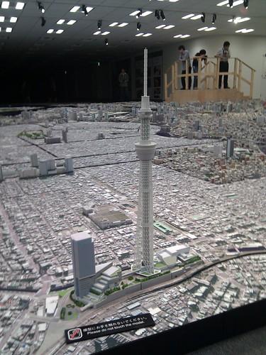 森ビル都市模型(ジオラマ)