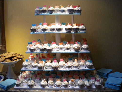 cupcake tower!