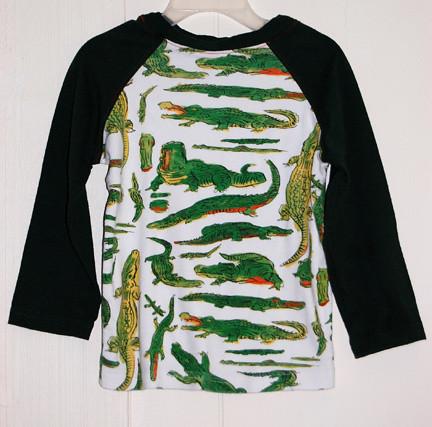 Josh's alligator shirt