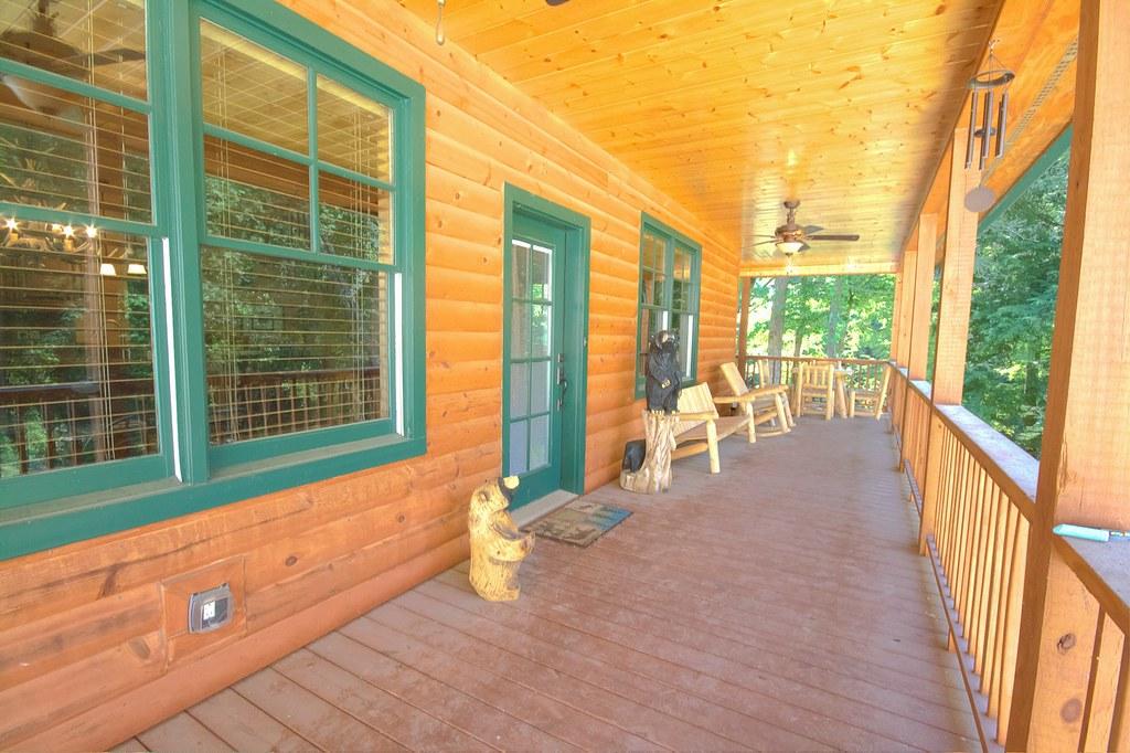 411 Bear Den Road Porch