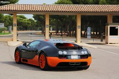 Bugatti Veyron Super Sport World Record Edition On Road (MaxouCars) Tags: road new cars car sport super du bugatti circuit veyron on httt castellet exclusives